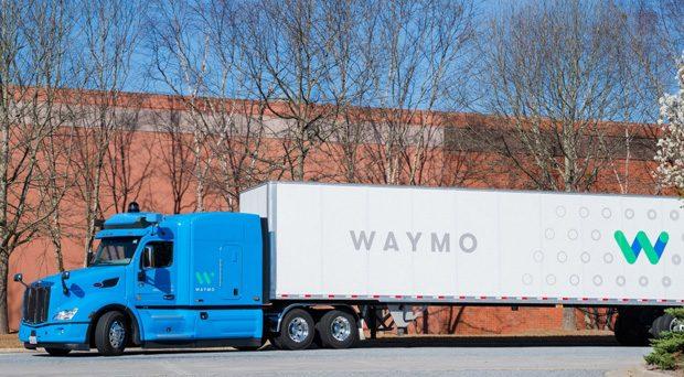 Waymo camion