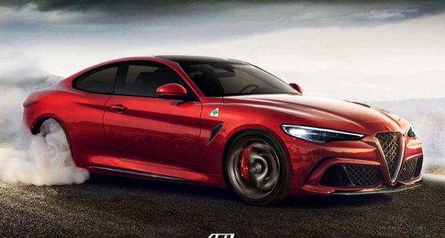 Alfa Romeo Giulia Coupè: ecco un nuovo render che prova ad immaginare l'aspetto definitivo del modello che forse in futuro arricchirà la gamma del Biscione.