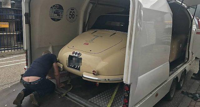 Alfa Romeo 6C 2500 Cabriolet: l'esemplare che avrebbe dovuto prendere parte alla Mille Miglia 2018 è stato rubato.