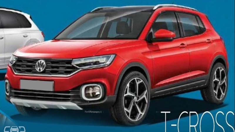 Volkswagen T-Cross: sul web la prima immagine del futuro Suv? - Motori e Auto - Investireoggi.it