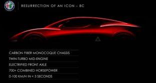 Alfa Romeo 8C 2018