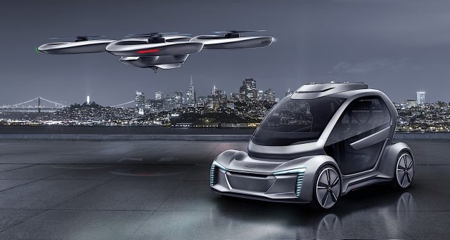 Audi: la casa automobilistica di Ingolstadt annuncia progetti di sviluppo e sperimentazione deitaxi volanti.