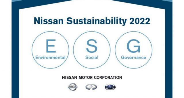Nissan: la casa automobilistica nipponica presenta il suo piano di sostenibilità sino al 2022.