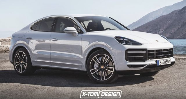 Nuova Porsche cayenne Coupè