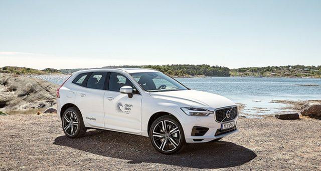 Volvo entro il 2025 ha promesso che tutte le sue auto saranno prodotte con il 25% di plastiche riciclate.