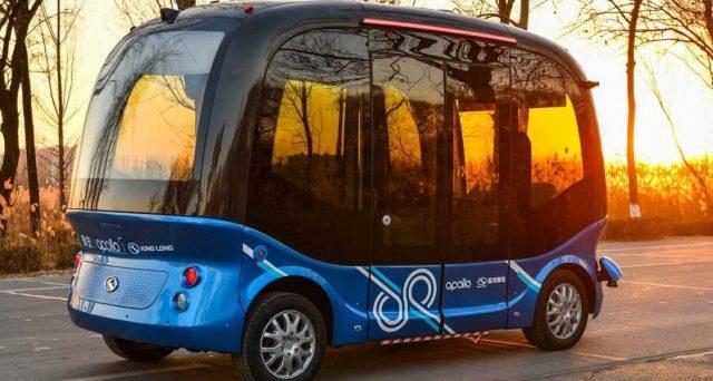 Baidu lancia i primi 100 bus a guida autonoma che verranno utilizzati in Cina e Giappone a partire dai prossimi mesi.