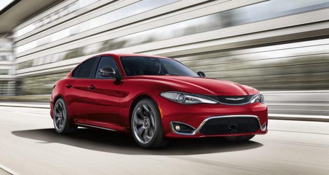Alfa Romeo Giulia sarà fonte di ispirazione per la futura Chrysler 300: Sul web c'è chi è pronto a scommettere di si.