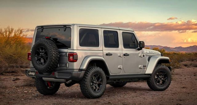Nuova Jeep Wrangler Moab
