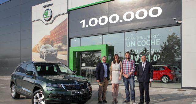 Skoda: la casa automobilistica ceca che fa parte del gruppo Volkswagen festeggia la produzione di un milione di Suv.