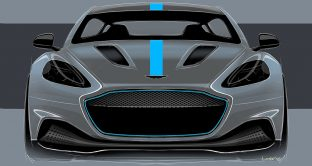 Nuova Aston Martin Rapide E