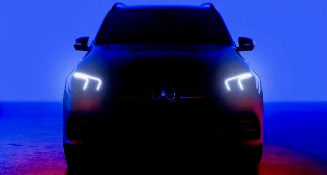 La nuova Mercedes GLE che sarà svelata tra poche ore è stata protagonista di un nuovo video teaser.