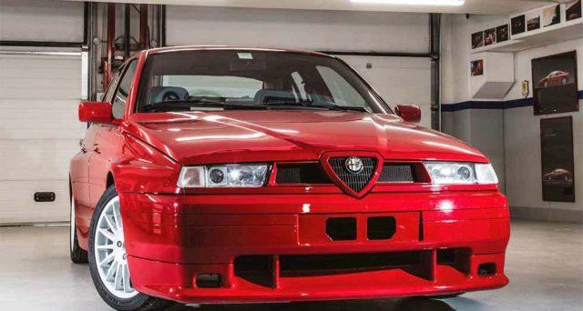 Alfa Romeo 155 GTA Stradale: l'unico esemplare realizzato sarà messo all'asta da Bonhams a Padova il 27 ottobre.