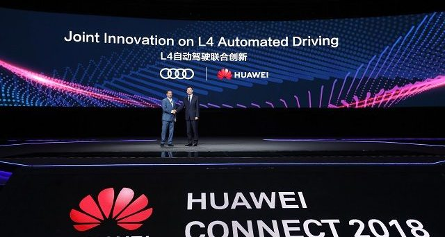 Audi e Huawei