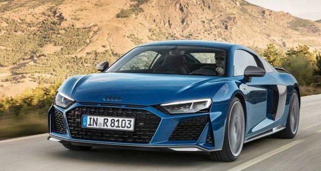 La nuova Audi R8 dopo il restyling è ancora più potente del precedente modello