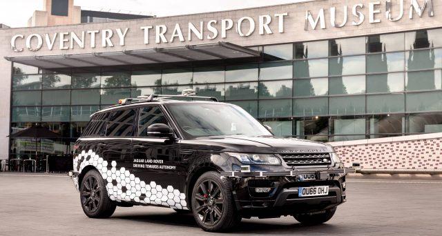 Range Rover a guida autonoma