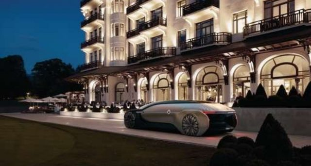 Renault EZ-Ultimo: ecco il nuovo futuristico concept mostrato dalla casa francese al Salone dell'auto di Parigi.