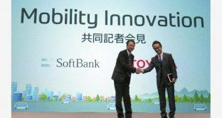 Toyota e SoftBank