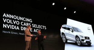 Volvo e Nvidia