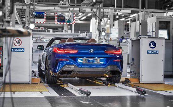 Bmw Serie 8 Cabrio: nelle scorse ore è iniziata la produzione del nuovo modello presso la fabbrica di Dingolfing.