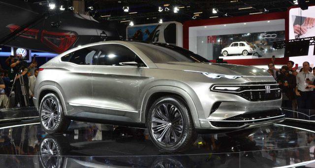 Fiat svela il suo nuovo suv coupè concept al Salone dell'auto di San Paolo 2018.