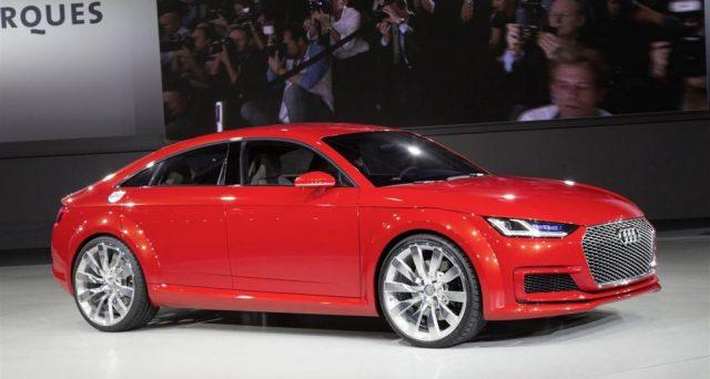 Audi TT a quattro porte: secondo Auto Express il modello è stato confermato e arriverà entro due anni.