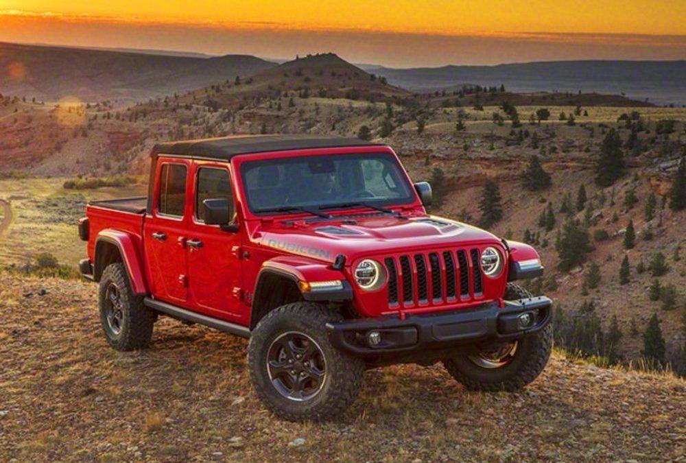Jeep Gladiator Ecco I Prezzi Ufficiali Del Pick Up Negli Usa