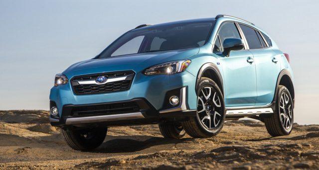 Al Los Angeles Auto Show 2018 assisteremo al debutto della Subaru Crosstrk Hybrid, ecco le prime immagini