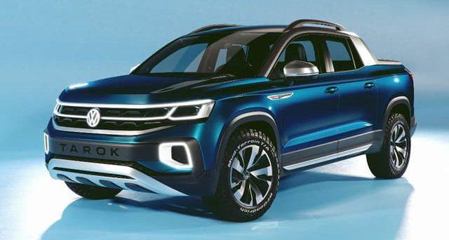 Volkswagen Tarok: il concept del futuro pick up è stato svelato dalla società tedesca al Salone di San Paolo.