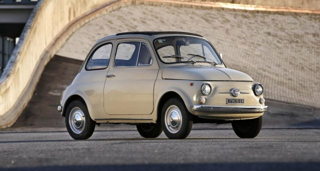 Il Museum of Modern Art di New York esporrà in una sua mostra in primavera l'iconica Fiat 500 Serie F