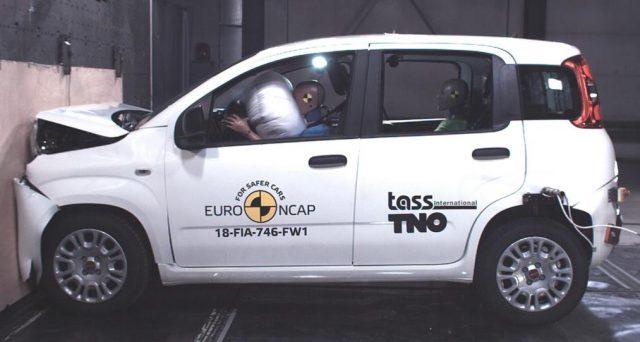 Fiat Panda: sottoposta ai nuovi crash test di Euro NCAP la celebre city car italiana dimostra di non essere più al passo coi tempi