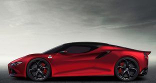 Nuova Alfa Romeo 8C