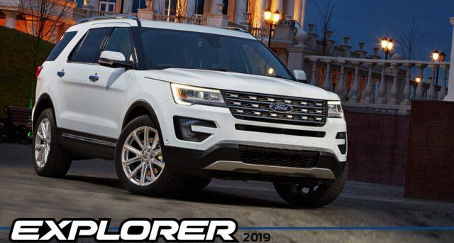 Ford svelerà la nuova Explorer il prossimo 9 gennaio a Detroit