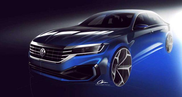 Nuova Volkswagen Passat: la nuova generazione sarà presentata nel 2019 per il mercato auto Nord americano