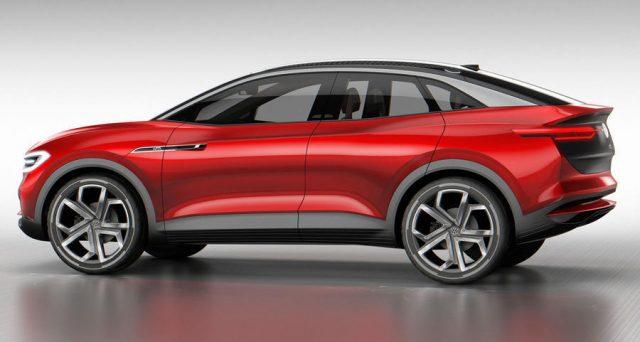 VOLKSWAGEN svelerà il nuovissimo SUV elettrico ID Lounge nel 2019 che sarà l'auto elettrica ammiraglia dell'azienda
