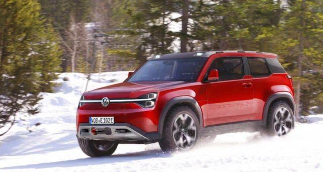 Volkswagen T-Rug dovrebbe essere il nome di un nuovo fuoristrada elettrico di grandi dimensioni che arriverà nel 2022