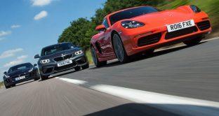 Bmw, Porsche e Jaguar