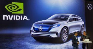 Mercedes e NVidia