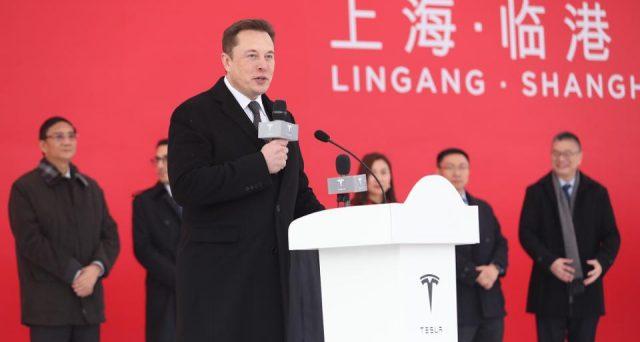 L'amministratore delegato di Tesla ha inaugurato i lavori di costruzione della nuova Gigafactory di Shanghai in Cina