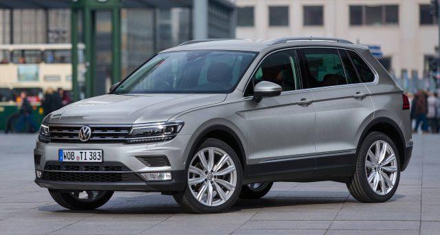 Volkswagen Tiguan festeggia 5 milioni di unità vendute da quando è stata lanciata sul mercato nel 2007