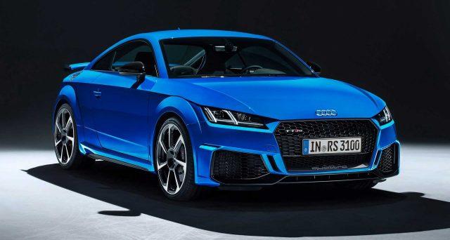 Audi TT RS potrebbe essere l'ultima novità per la gamma di TT che secondo indiscrezioni potrebbe uscire di produzione