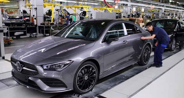 La produzione della Nuova Mercedes CLA è iniziata presso lo stabilimento Daimler di Kecskemét in Ungheria