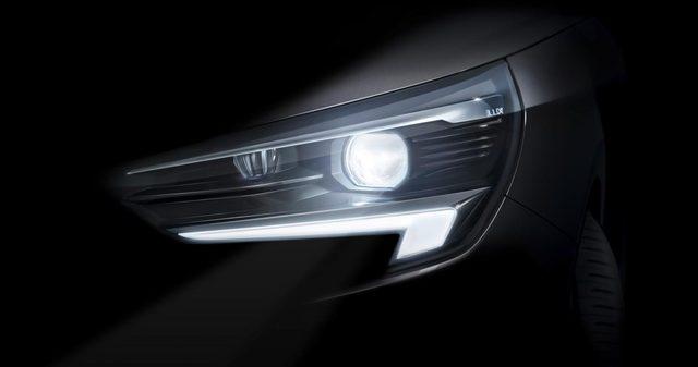 Prima immagine teaser della nuova Opel Corsa, l'atteso modello sarà rivelato nel 2019