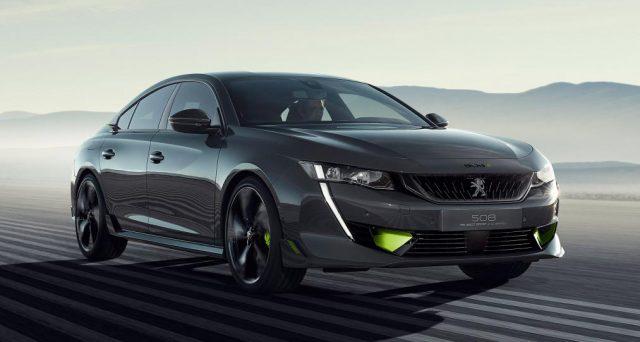 Al Salone dell'auto di Ginevra una delle auto più attese è la concept car di una Peugeot 508 ibrida ad alte prestazioni