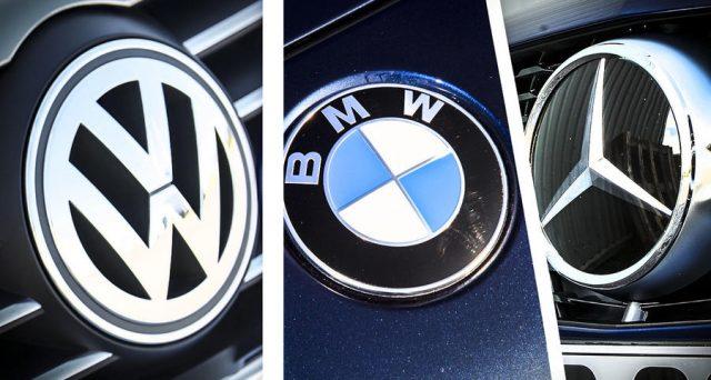 Bmw, Daimler e Volkswagen