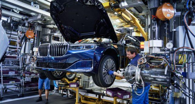 Iniziata la produzione della vettura dopo il suo aggiornamento di metà ciclo a Dingolfing in Germania