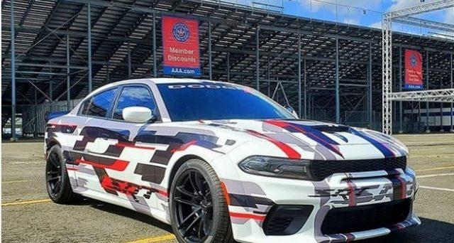Allo Spring Fest LX 2019 la casa americana ha mostrato il nuovo concetto di Dodge Charger Widebody