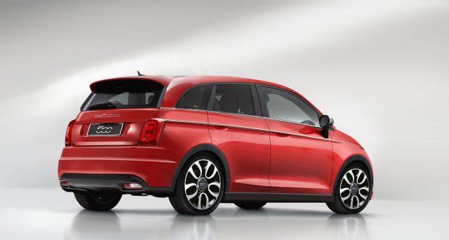 Una versione completamente elettrica della futura Fiat 500 Giardiniera sarebbe un'ipotesi concreta