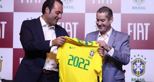 La principale casa italiana per 4 anni sarà lo sponsor della nazionale di calcio del Brasile