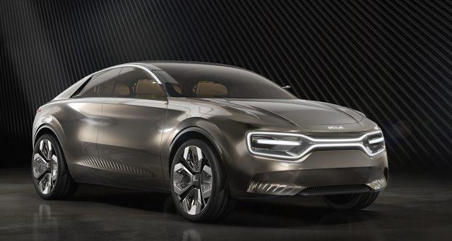 Imagine è il nome della concept car 100% elettrica che Kia ha mostrato oggi al Salone dell'auto di Ginevra 2019