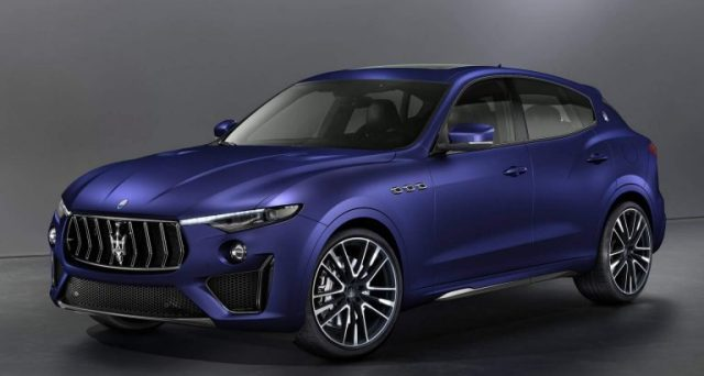 Al Salone dell'auto di Ginevra Maserati mostrerà la recente Levante Trofeo V8 Launch Edition